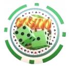 Casino Dice grön